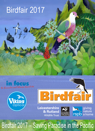 The British Bird Fair 2017 - theme